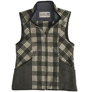 Stormy Kromer women's plaid wool vest